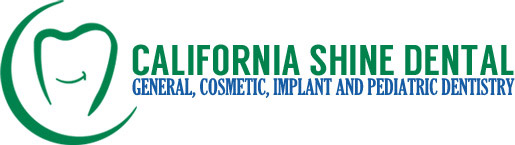 Dental Clinic logo for California Shine dental.